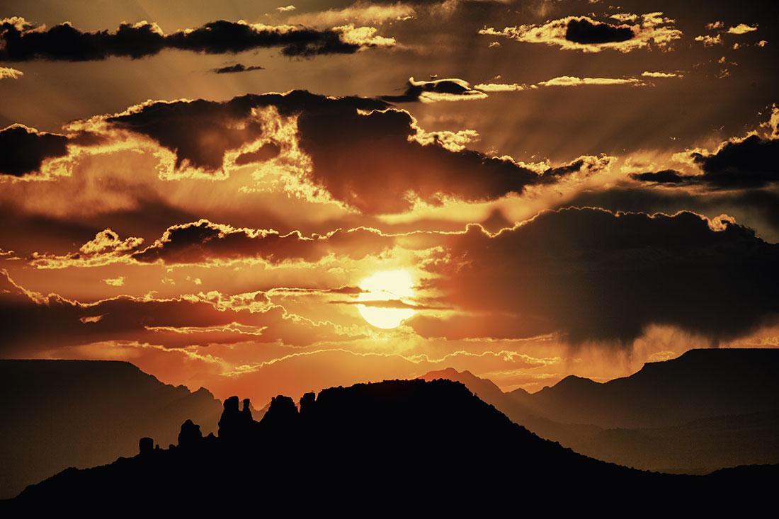 Sedona sunset...