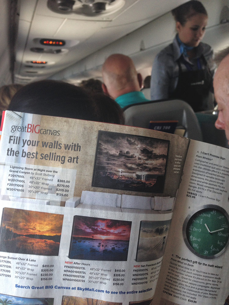 Skymall inflight magazine