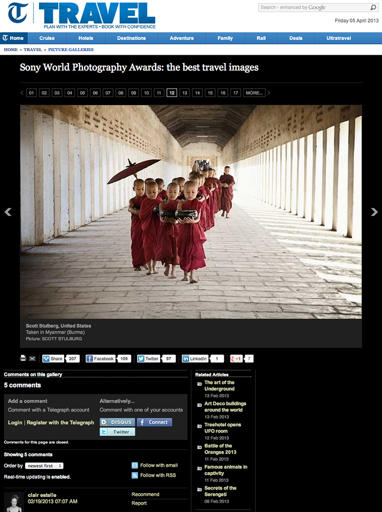 Sony photo awards