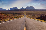 Forrest Gump View in Monument Valley