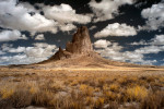 El Capitan Rock by Monument Valley