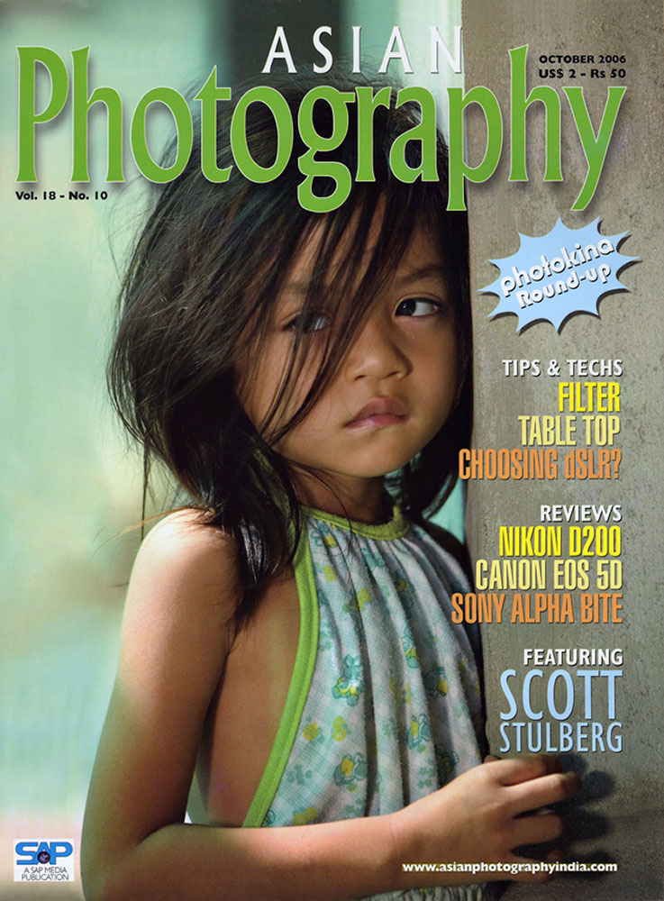 Cover and interview for Asian Photography