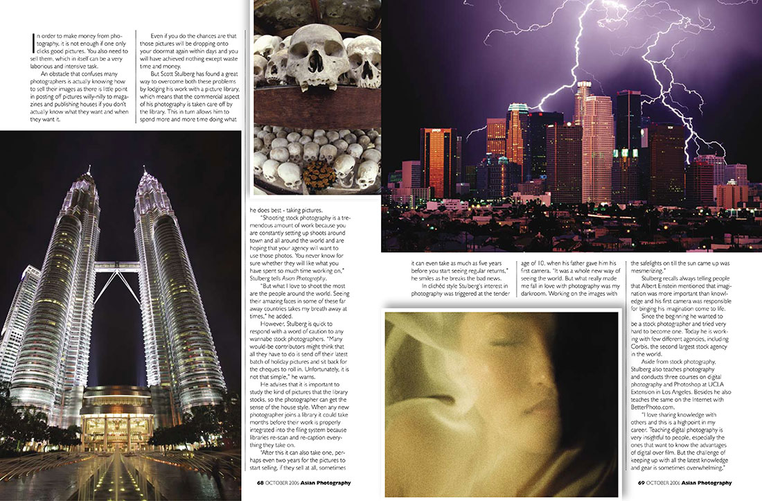 Interview for Asian Photography Magazine