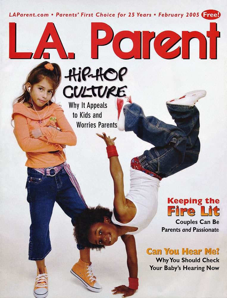 Award winning Cover for LA Parent Magazine