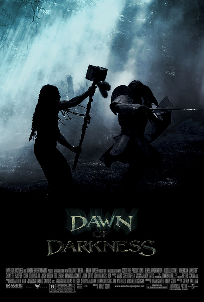 Movie poster for Dawn of Darkness