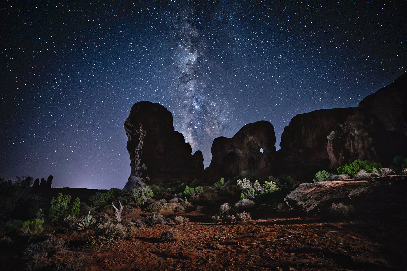 Milky Way in Arches National Park