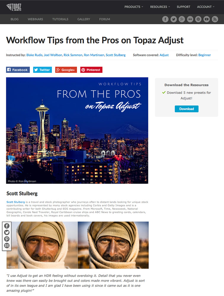article for Topaz