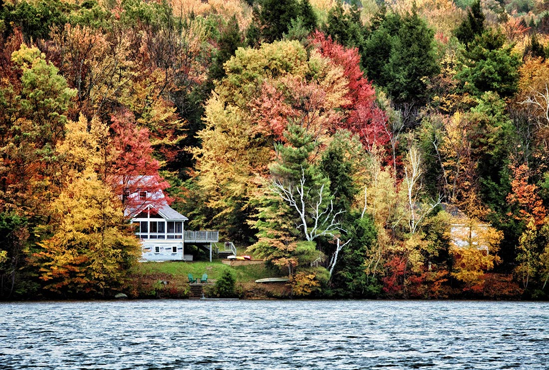 Vermont in the fall