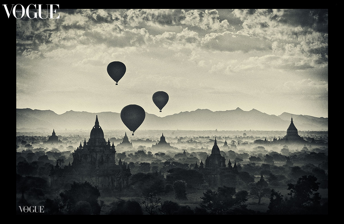 My balloons over Bagan