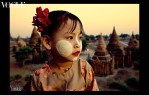 Little San San in Bagan, Burma