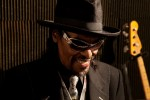 Chuck Brown in the studio