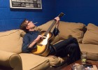 Justin Townes Earle; backstage at the Birchmere