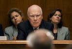 A skeptical Senator Patrick Leahy and staff consider a witness at hearing on the 911 Commission