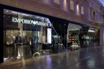 Emporio ArmaniForum Shops at Caesars PalaceLas Vegas, NVOrtelli Architetti: Design ArchitectRichard H. Lewis: Executive Architect