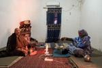 Tindouf's Saharawi refugee camps. Rabouni. Disabled war veteran center.