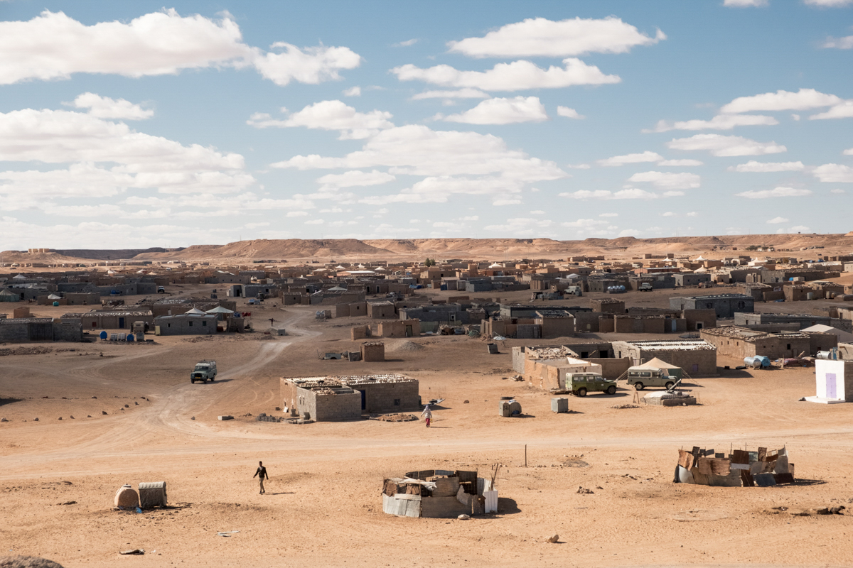 Tindouf's Saharawi refugee camps. El Ayoun.