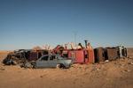 Tindouf's Saharawi refugee camps. Rabouni