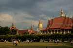Sak Yant tattoo in Wat Bang Phra temple.