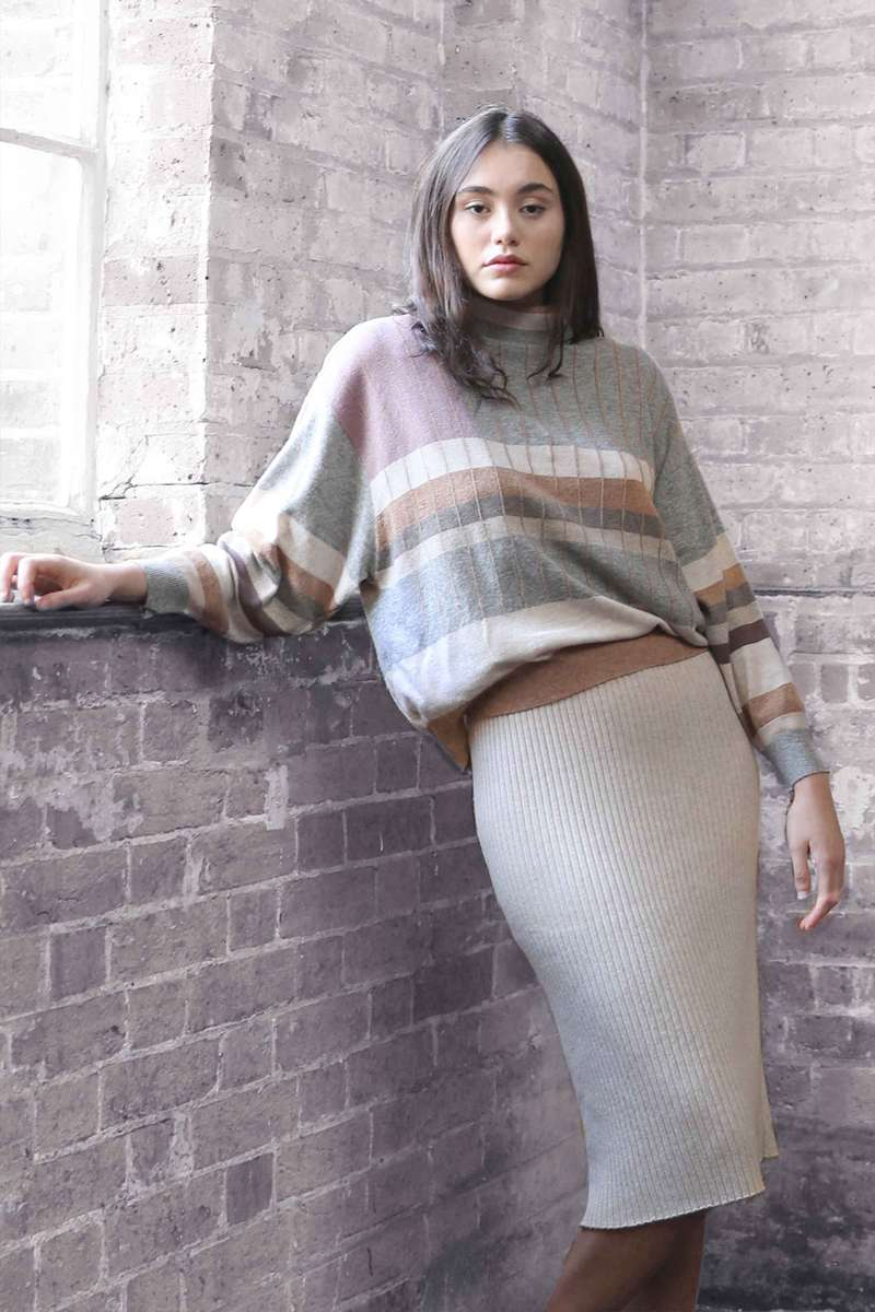 CA35923 KIVELY SWEATER-LIGHT GROUP