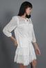 CA 36624 MAXINE TOP WHITE & CA 91825 KRISTINA SKIRT WHITE