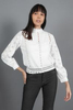 CA 36631 ZIYI TOP WITH CAMY WHITE