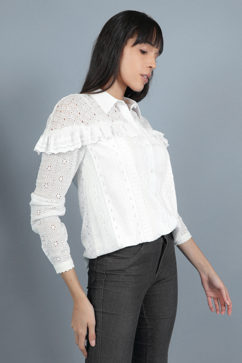 CA 36692 NICA SHIRT WHITE