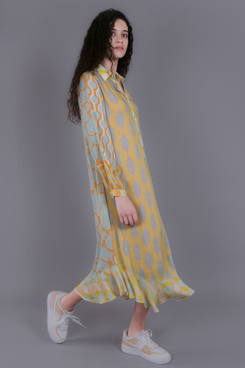 CA 400679 SEREENA DRESS WITH CAMY DP GROUP CA 2050_SS 21