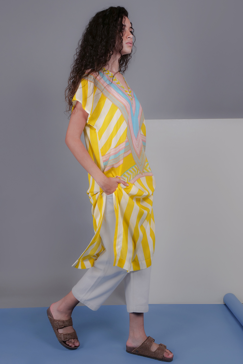 CA 400695 ALESSIA TUNIC DP GROUP CA 2073_SS 21
