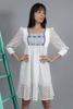 CA 400753 STACY DRESS WHITE