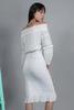 CA 400844 LEA DRESS WHITE