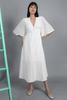 CA 400846 DEMI DRESS WHITE