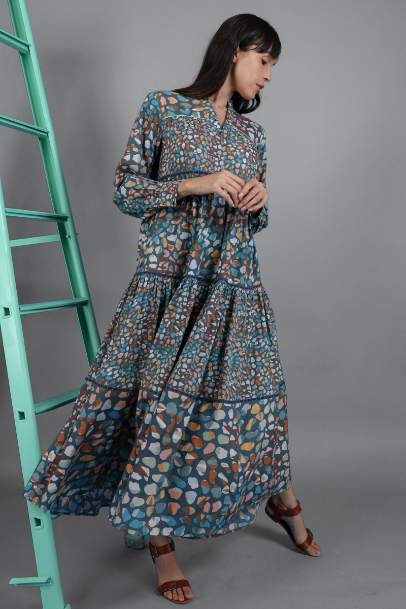 CA 400929 ANDREEA DRESS DP GROUP 2136