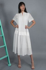 CA 400959 KATARZYNA DRESS WHITE