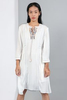 CA 400986 ELINIYA DRESS WITH CAMY WHITE