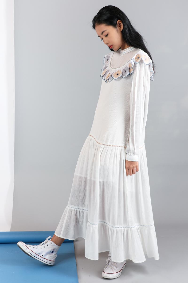 CA 400994 NOELIA DRESS WHITE