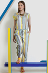 CA 44948THE OUTCAST JUMPSUIT SKY BLUECA 82450ROOKIE NECKLACE CAMEL