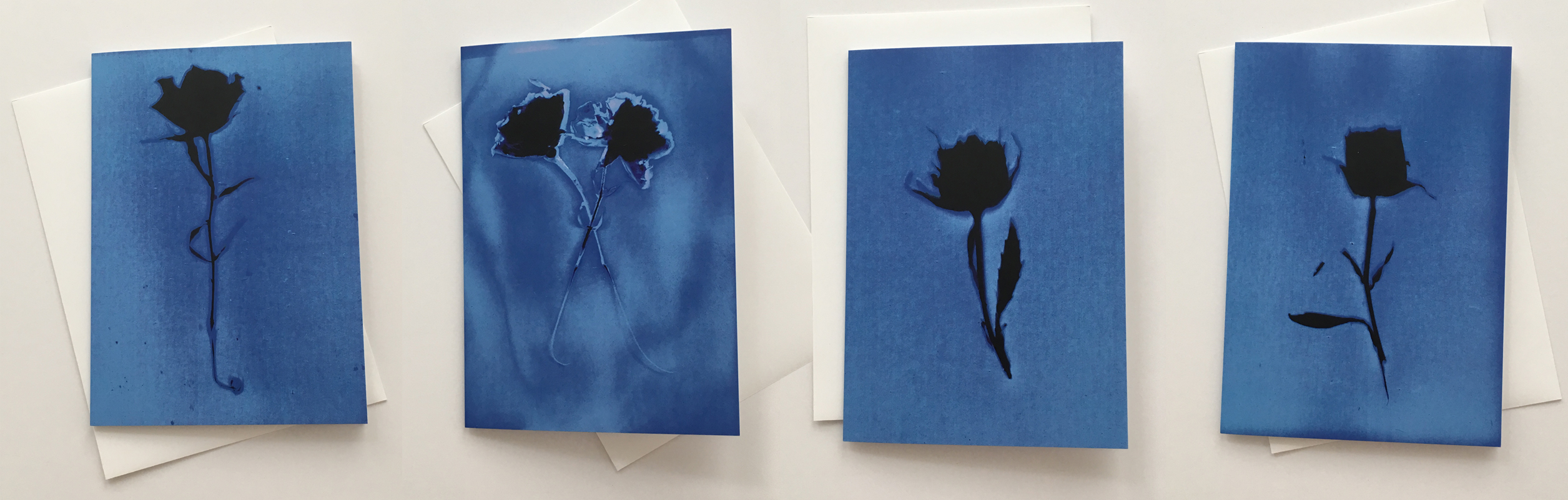 Four Blank Blue For You Cards from the series In My Courtyard with envelopes5.75 x 4.25 inches1000.0064****$25.00 plus Shipping and Handling