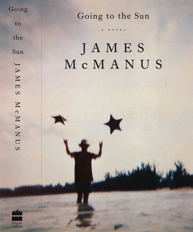 Going to the Sun, novel by James McManus. Chip Kidd, designer.  Harper Collins, publisher.   Book jacket photograph, Man throwing Starfish in air.  ag_0000_1224  Color Rights Managed Image Copyright © 1994 Ann Giordano All Rights Reserved.  For reproduction rights and license fees, please contact licensing at anngiordano.com
