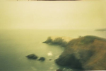 A pinhole photograph from the coast of northern California.