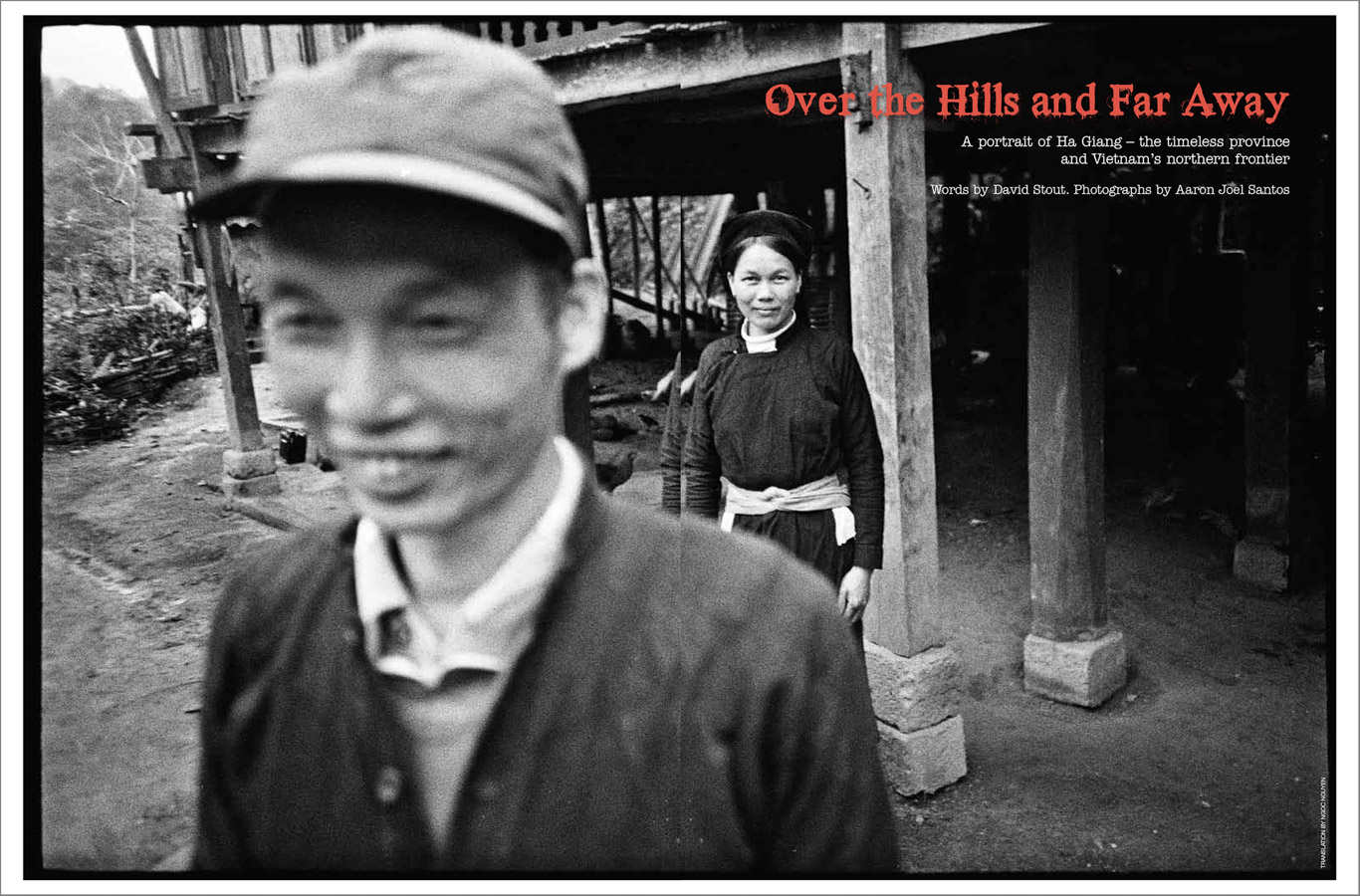 Black & white film photography on a travel assignment in the northern wilds of Vietnam's Ha Giang province.