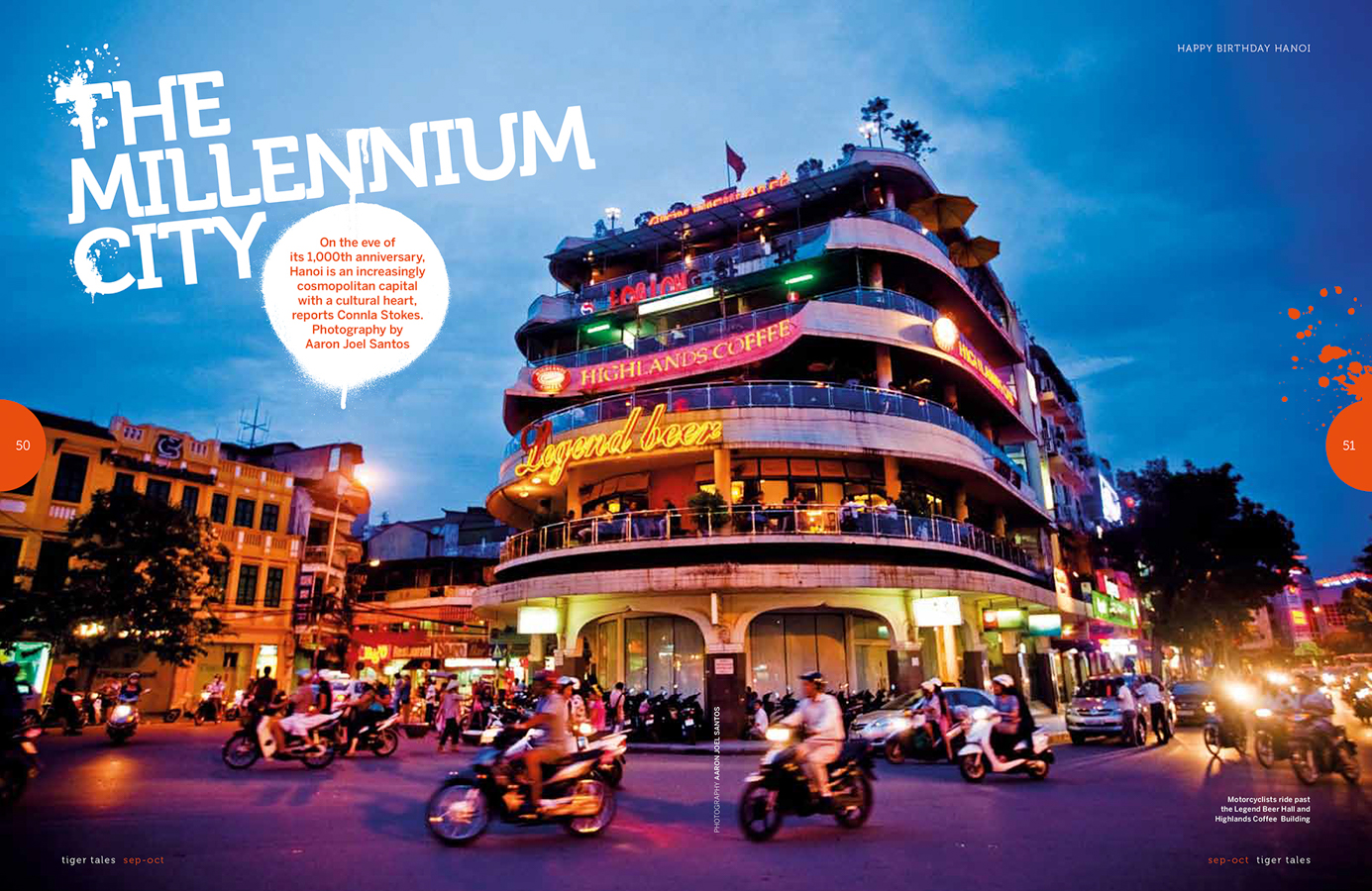 A feature travel story on the 1000-year anniversary of Vietnam's capital city.