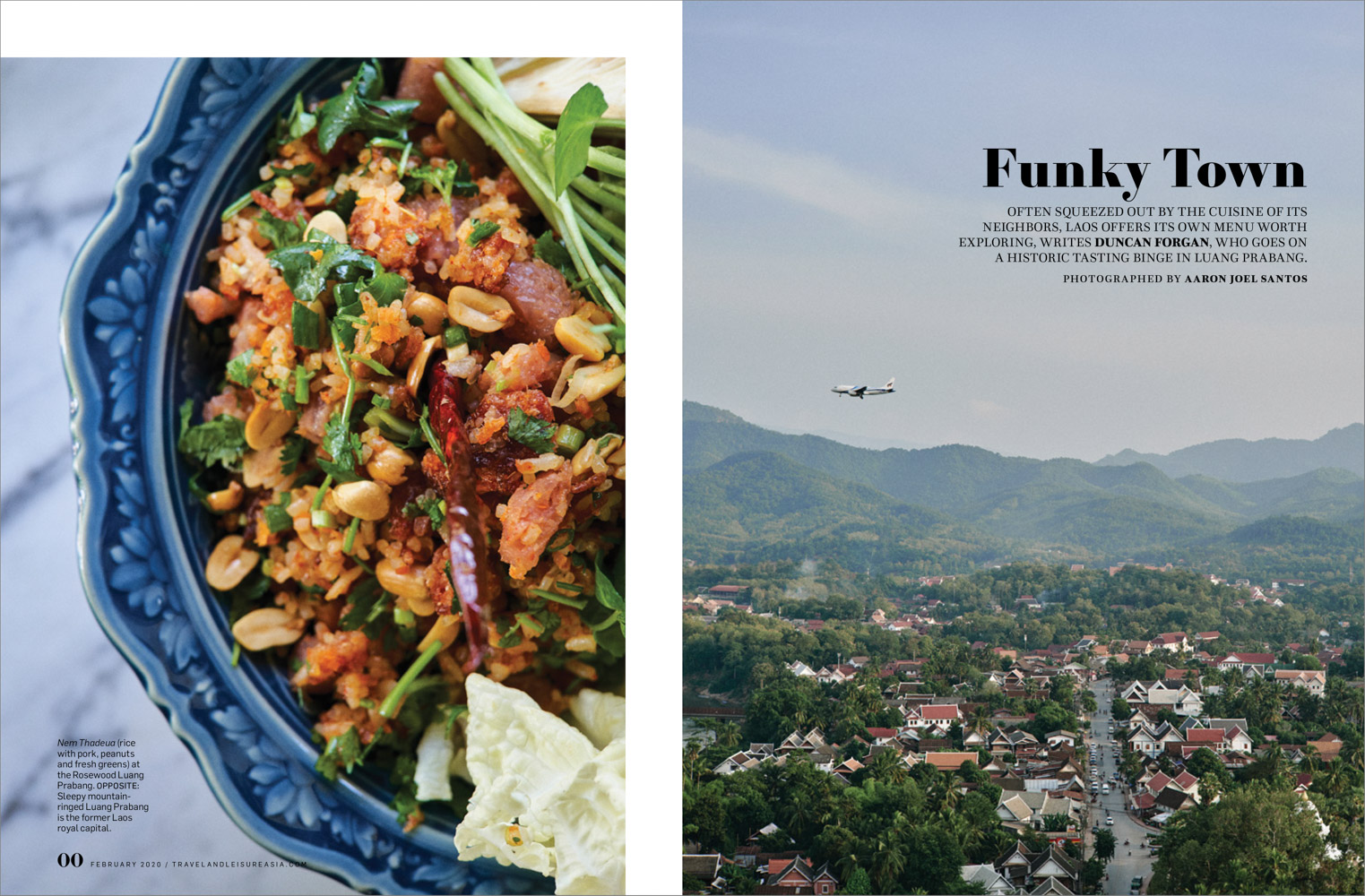 From a travel story on Laotian cuisine in Luang Prabang.