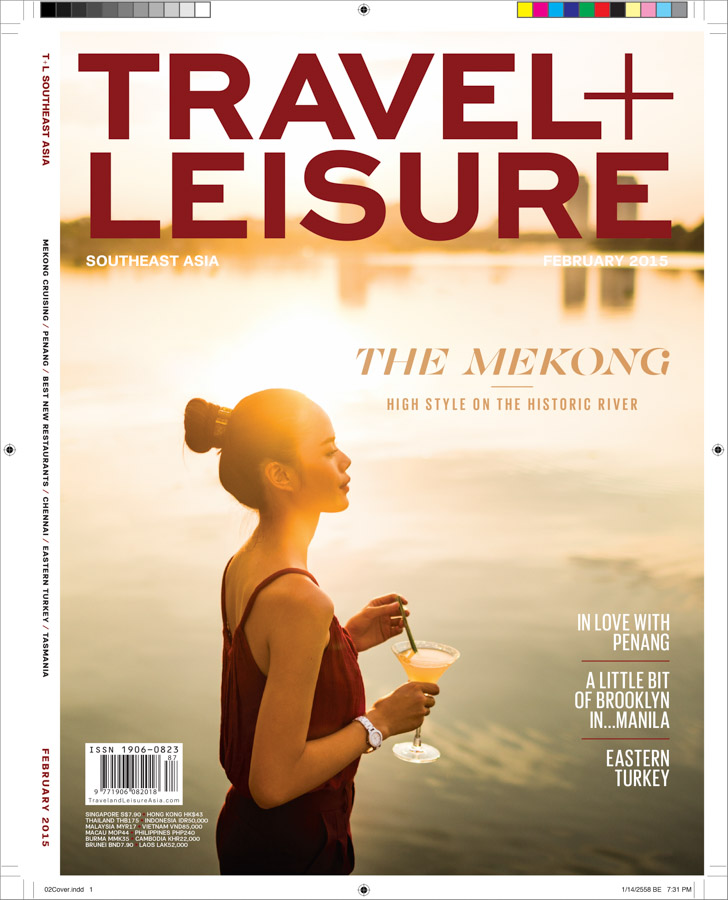 A cover image for a story on river life in the Mekong Delta in southern Vietnam.