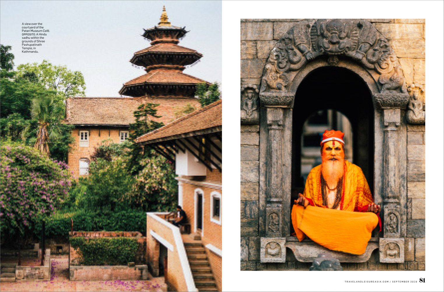 From an editorial travel story on the Kathmandu Valley in Nepal.