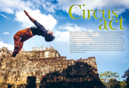 A travel feature and photo essay on the Phare Circus in Cambodia.