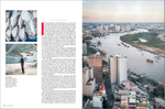 From a feature travel story on Ho Chi Minh City for United Airlines' Rhapsody magazine.