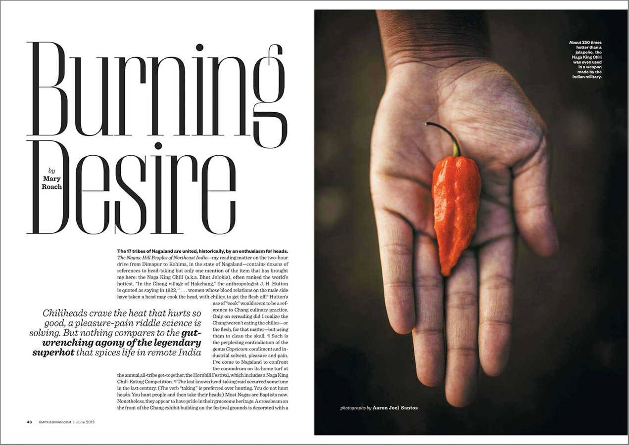 Hunting for the world's hottest chili in the wilds of northeastern India with the inimitable Mary Roach.