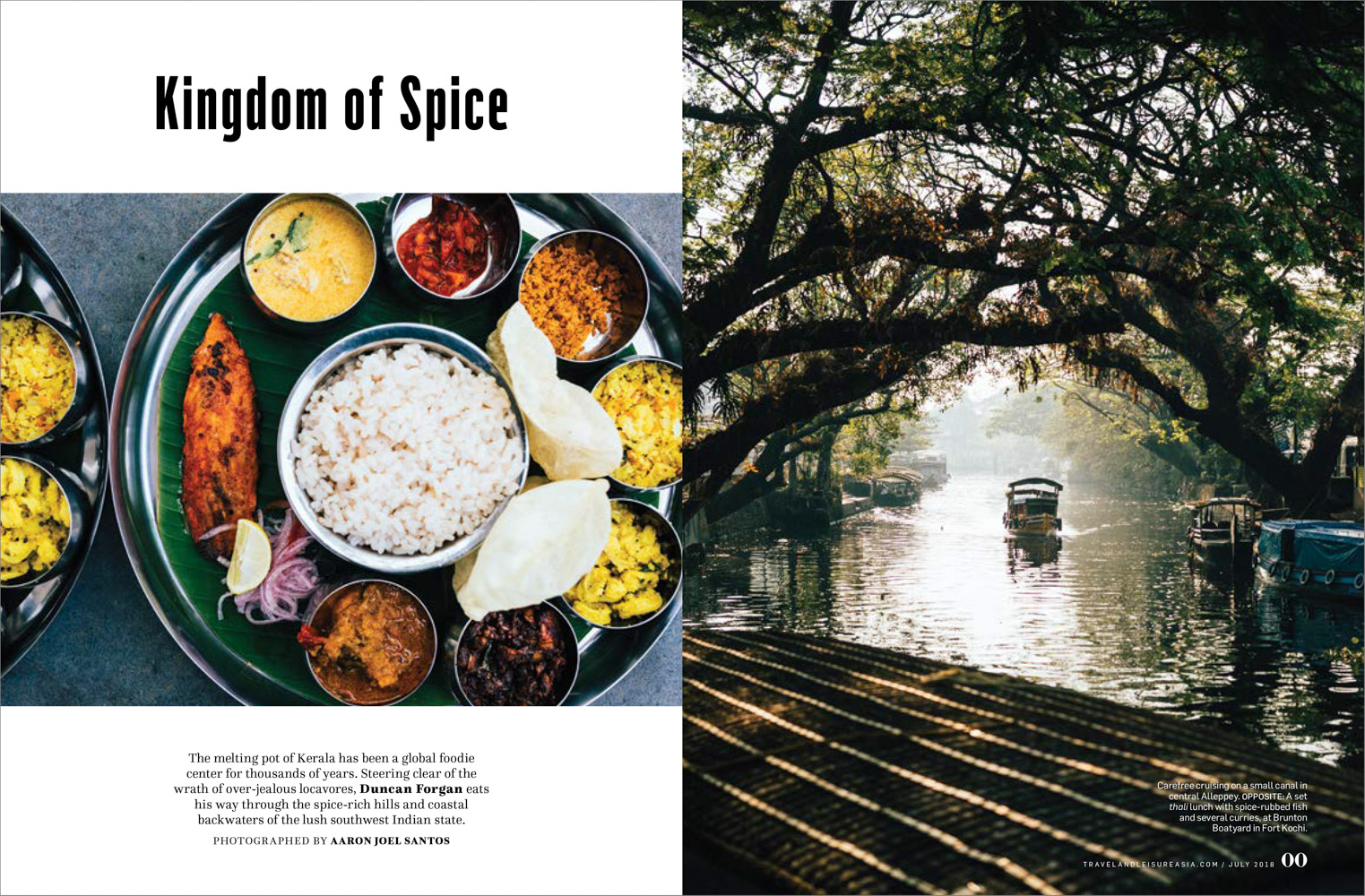 A food tour through the verdant lands of India's southwest state.