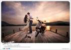 From an ad campaign for Vespa in Vietnam.