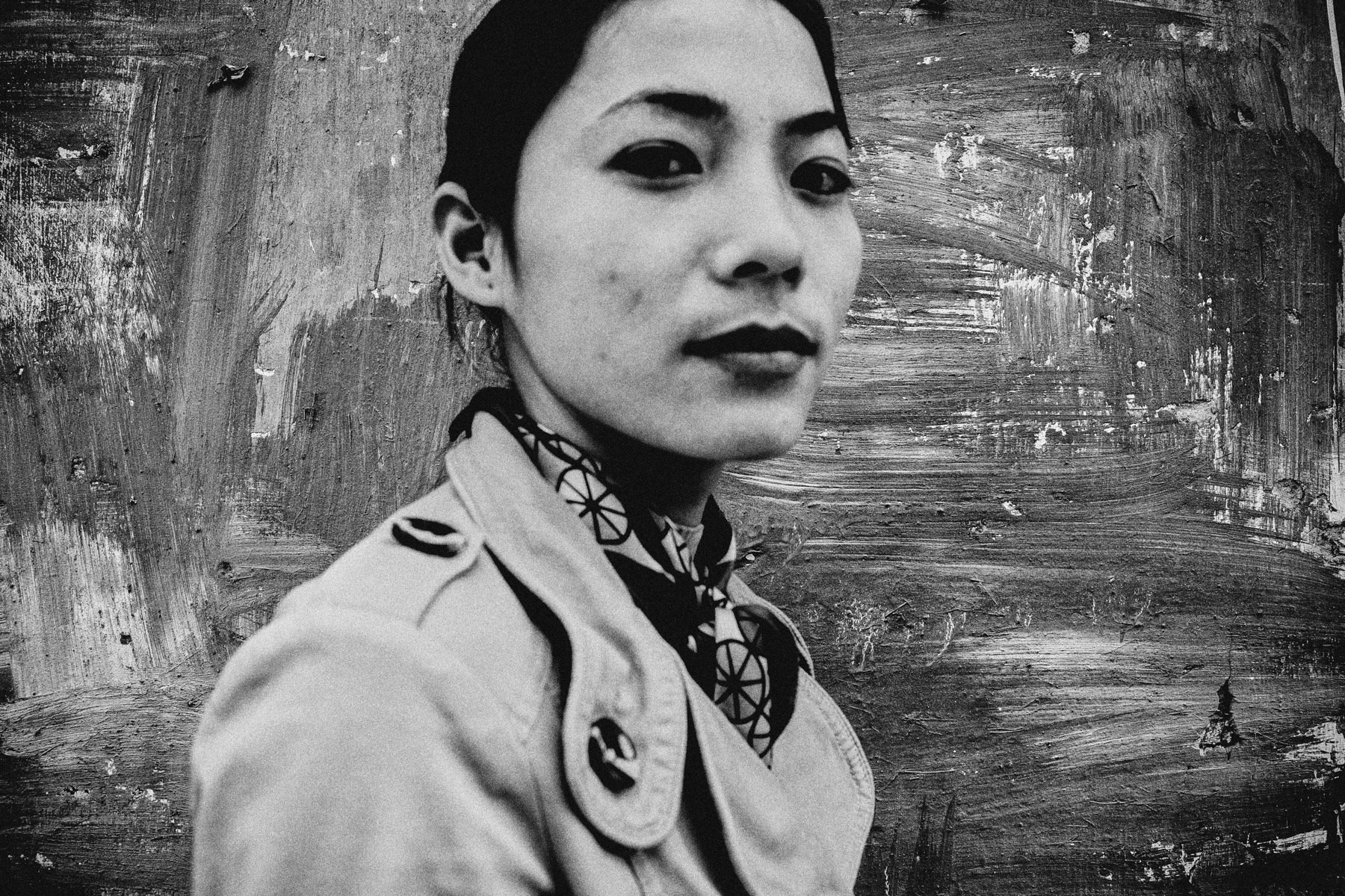 A portrait of Tran Thi Hue, Vietnam's first Miss HIV pageant winner in 2010.